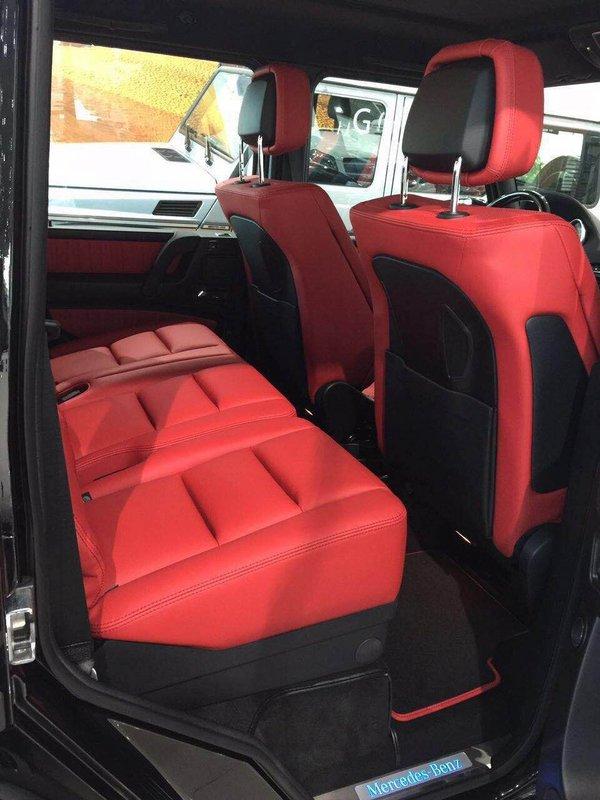 2017款奔驰G500 自适应减震器轻松行天下-图11