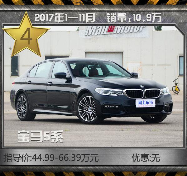 最热销10款豪华品牌轿车!11月最高优惠达7折-图8