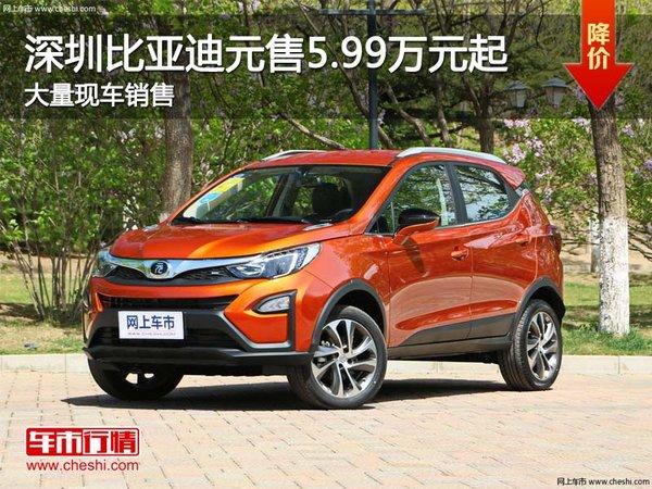 深圳比亚迪元售5.99万元起 竞争哈弗H1-图1