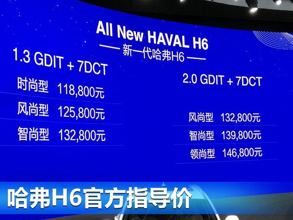 哈弗全新H6正式上市 售11.88-14.68万元-图1