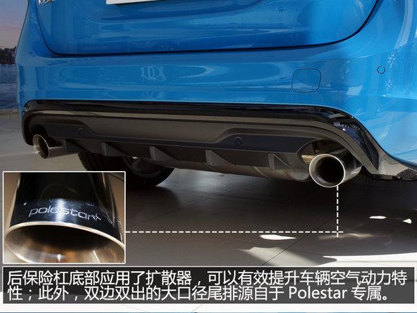 性能旅行车新丁 实拍沃尔沃V60 Polestar-图13