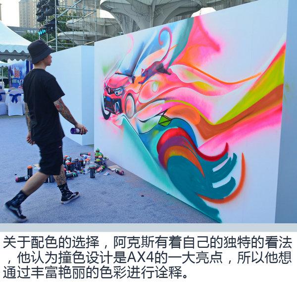 """微马涂鸦一起嗨 东风风神AX4""""夜猫""""狂欢之夜-图10"""