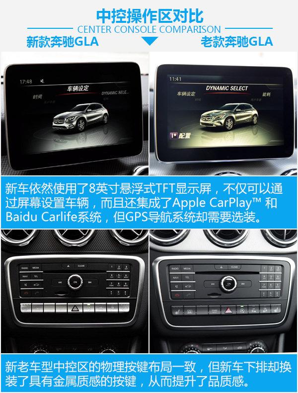 要时尚还是实惠?北京奔驰GLA新老车型对比-图3