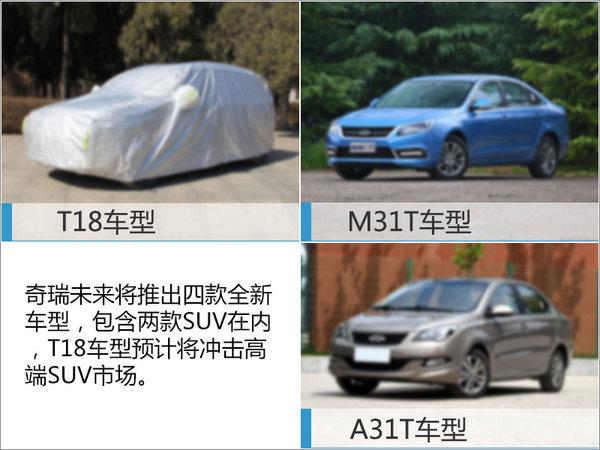 奇瑞规划四年推4款全新车型 含高端SUV-图4