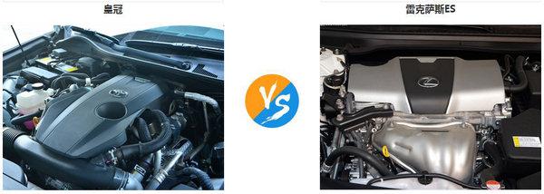 雷克萨斯ES 丰田皇冠买哪个舒适商用好-图3