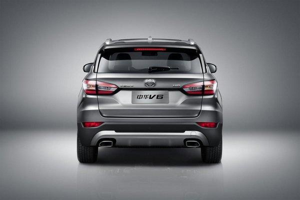 颠覆格局 宽体智联SUV中华V6全球首发-图6