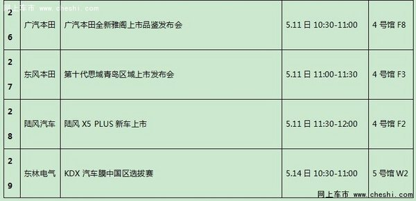 2016青岛国际车展5月11-16日举行-图5