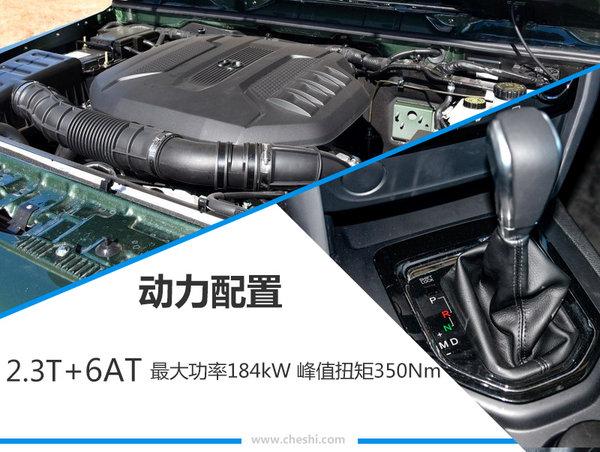 北汽40L/80特别版正式上市 售16.98-31.8万元-图6