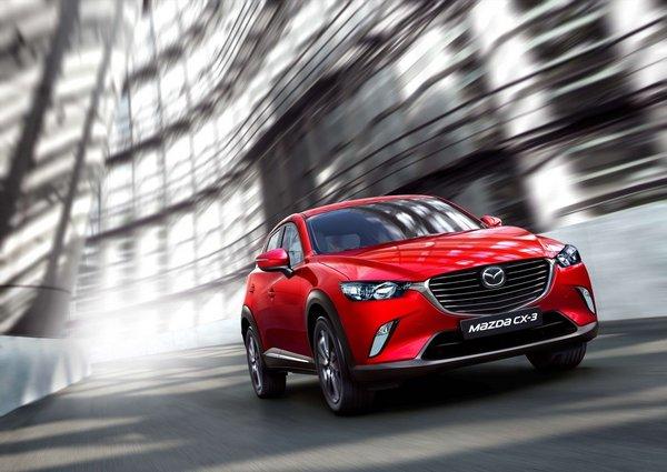 马自达携Mazda CX-3与MX-5登上海车展-图2