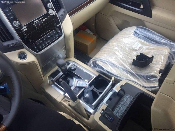 16款丰田兰德酷路泽4600 解析V8强劲动力-图7