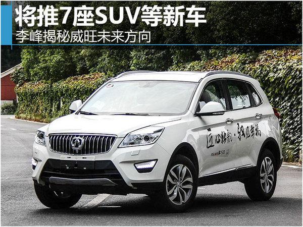 李峰揭秘威旺未来方向 将推7座SUV等新车-图1