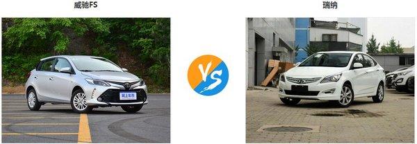 现代瑞纳怎么样 丰田威驰FS对比买哪个-图1