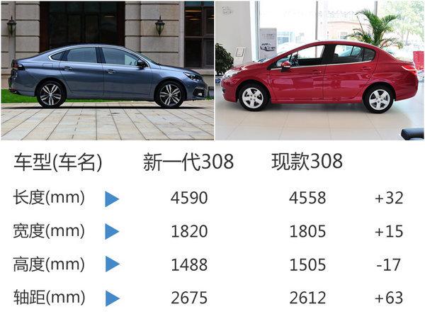 东风标致全新308今日上市 预售10.8万起-图4