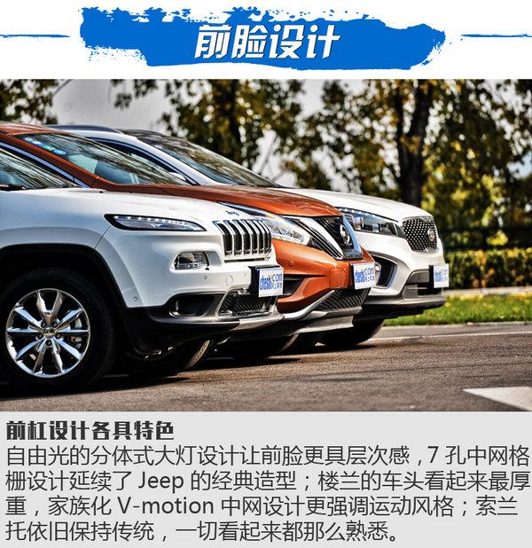 三国鼎立之SUV横评 自由光/楼兰/索兰托对比-图3