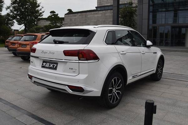 定位于中型SUV,众泰大迈X7实车正式发布