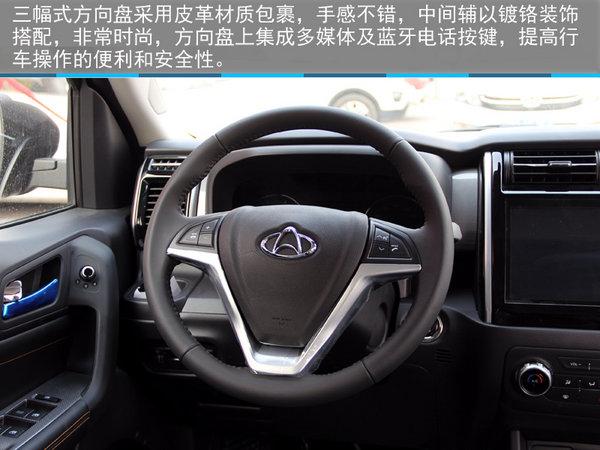 硬派新7座SUV—石家庄实拍长安欧尚X70A-图10