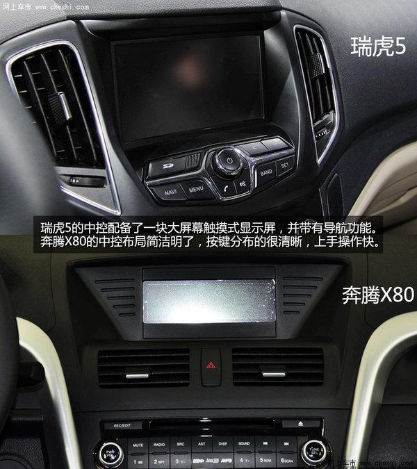 奔腾x80空调按键图解