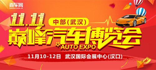 双11巧遇中部(武汉)巅峰汽车博览会-图1