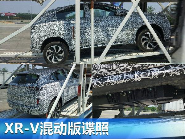 本田XR-V混动版谍照曝光 综合油耗低于4L-图2