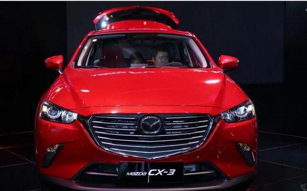 进口马自达CX-3 年底以进口引入中国销售-图2