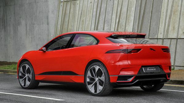 捷豹电动SUV明年上市 PK特斯拉Model X-图2