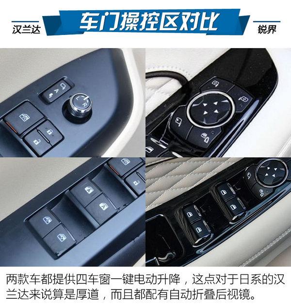 常青老树/国产新锐 丰田汉兰达PK福特锐界-图4