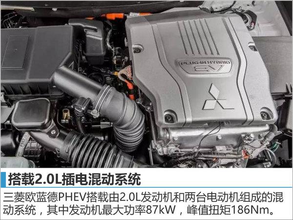 三菱欧蓝德PHEV将入华 油耗大幅下降-图-图3