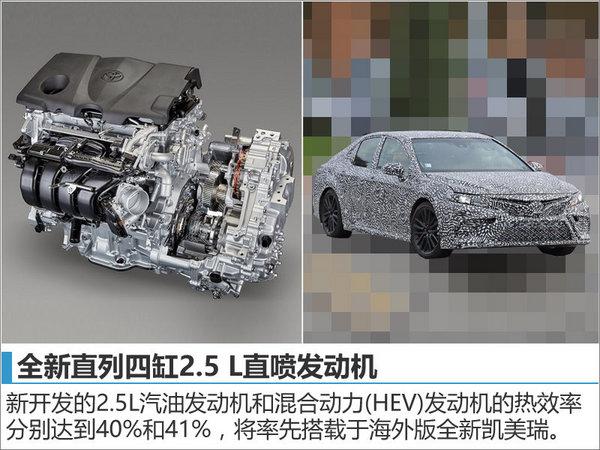 丰田新一代凯美瑞将国产 动力大幅提升-图2