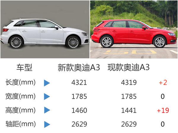 """奥迪A3将增运动版 换搭""""大排量""""发动机-图2"""