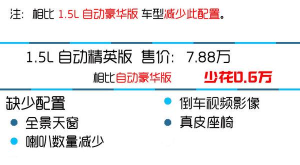 荐1.5L自动尊贵版 北汽绅宝X35购买推荐-图7
