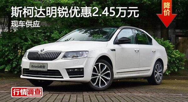 广州斯柯达明锐优惠2.45万元 现车供应-图1