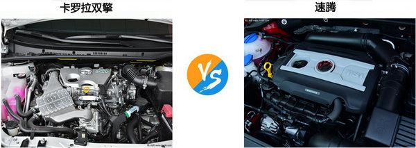 大众速腾 卡罗拉双擎买哪个动力好加速快-图4