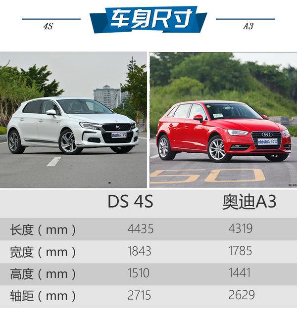 法德豪华A级车对决 DS 4S对比奥迪A3-图3