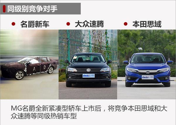 名爵全新轿车-四季度上市 竞争大众朗逸-图1