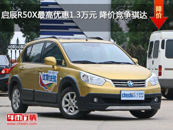启辰R50X最高优惠1.3万元 降价竞争骐达-图1