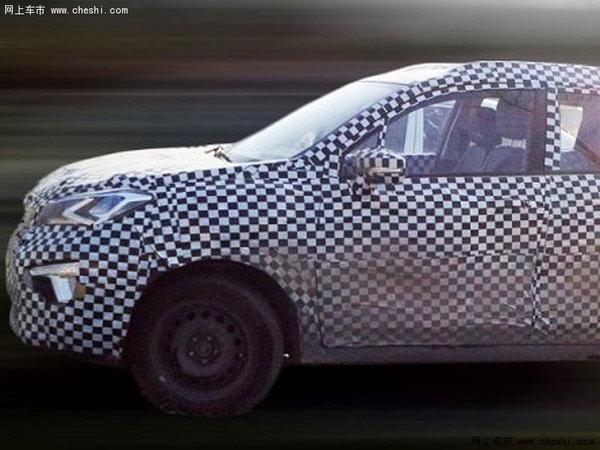自主全新小型SUV 长安汽车CS15谍照曝光高清图片