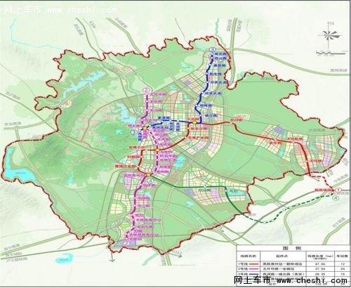 滁州城市轨道交通线网规划2015—2030图片