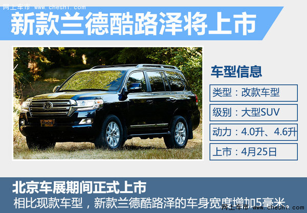 SUV市场竞争升级 34款新车北京车展首发-图7