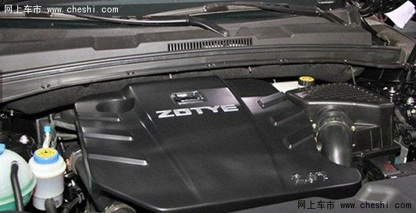 众泰t600 2.0车型发动机