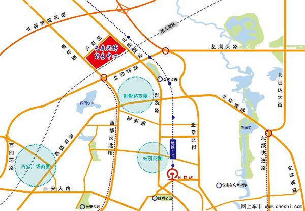 凯旋路街道地图