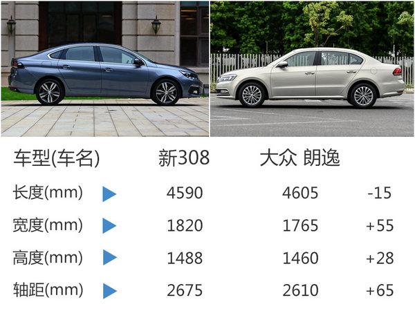 标致全新308成都车展预售 竞争大众朗逸-图4