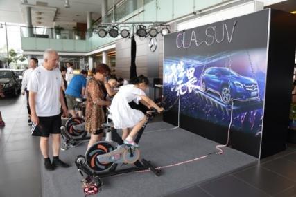 梅赛德斯-奔驰GLA SUV济南之星无畏上市-图10