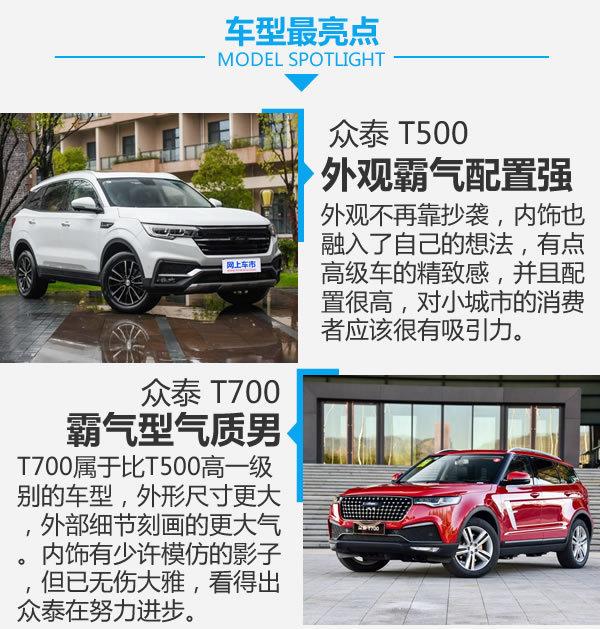 你想要的豪华车元素这都有 众泰T500对比T700-图6