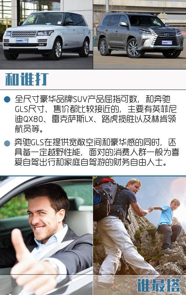 奔驰GLS正式上市 售XX.XX-XX.XX万-图1