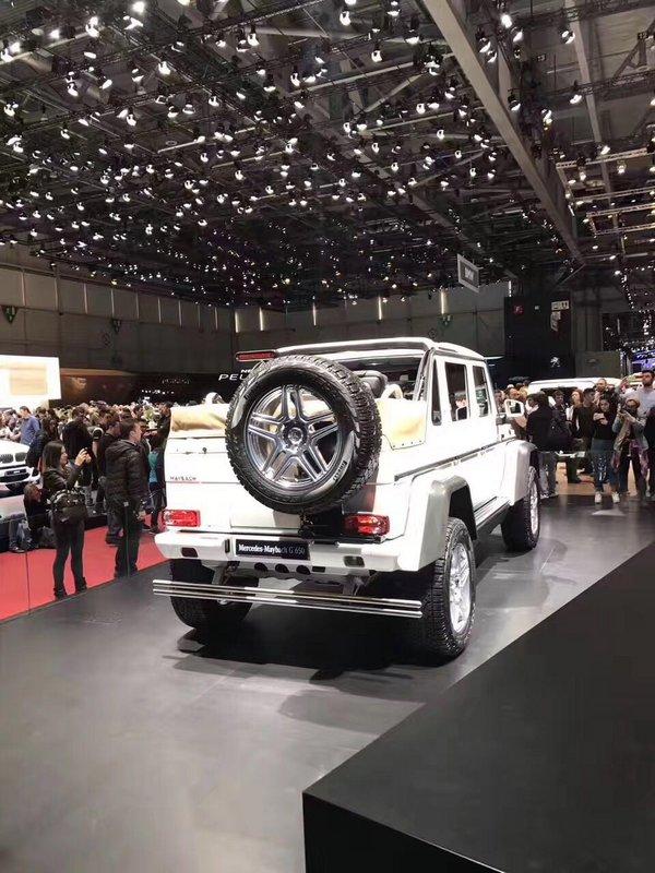奔驰迈巴赫G650全球99台限量 现车高清拍-图3