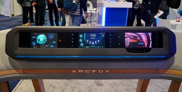 全新品牌ARCFOX亮相CES 2017,打造极致的未来出行工具-图6