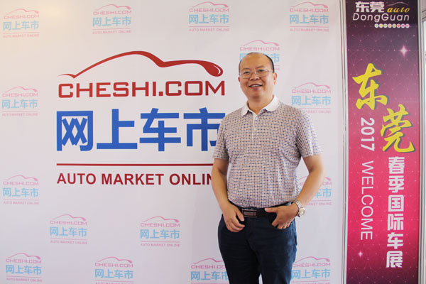 网上车市专访东裕东风雷诺总经理田承郁-图1