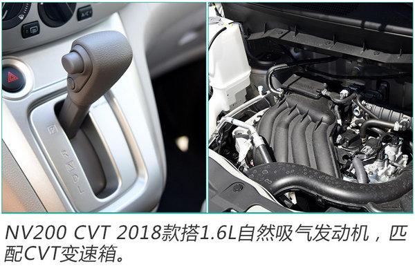 郑州日产新NV200上市 最高涨2千/售11.98万起-图4