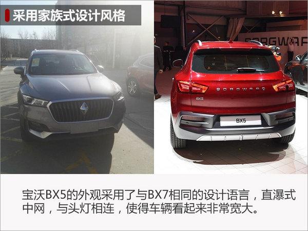 宝沃紧凑SUV-BX5即将预售 3月24日上市-图2
