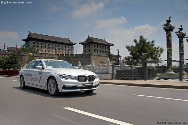 全新BMW 730Li闪耀古城西安-图7